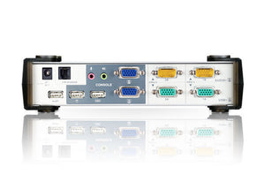 KVMP™ Switch 2-Port USB VGA Dual Display/Audio Aten CS1742
