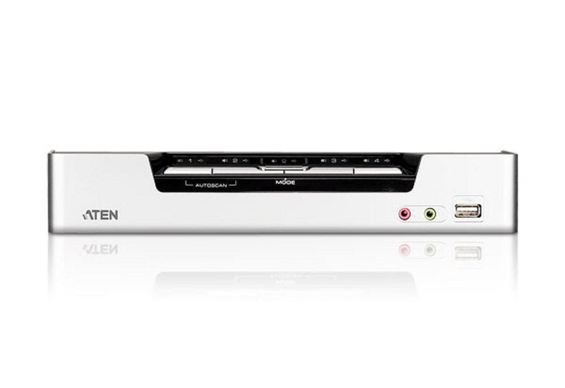 KVMP Switch 4 Port USB HDMI/Audio  Aten CS1794