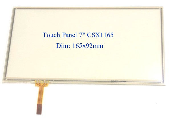 "Car Audio CD/DVD Touch Panel 7"" 165x92mm CSX1165 Pioneer"