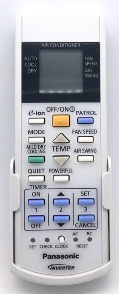 Genuine Air Con Remote Control  A75C3225 = C3224 Panasonic  AC
