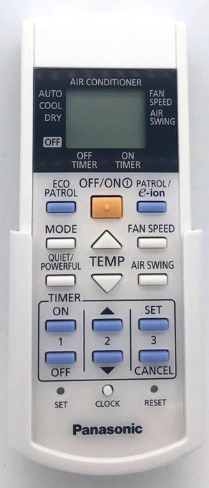 Genuine Air Con Remote Control  A75C3568 Panasonic