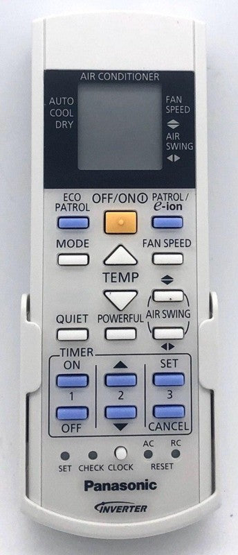 Genuine Air Con Remote Control  A75C3606 = A75C3605 Panasonic Inverter AC