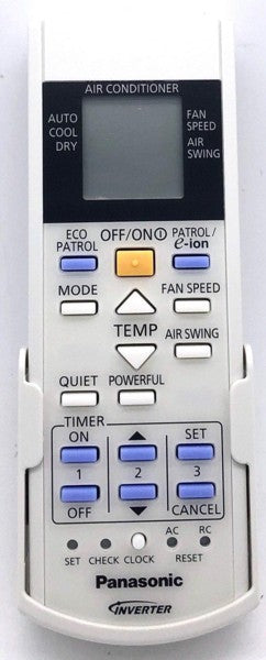 Genuine Air Con Remote Control  A75C3608 Panasonic Inverter AC