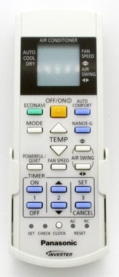 Remote Control Panasonic Air Con A75C4208
