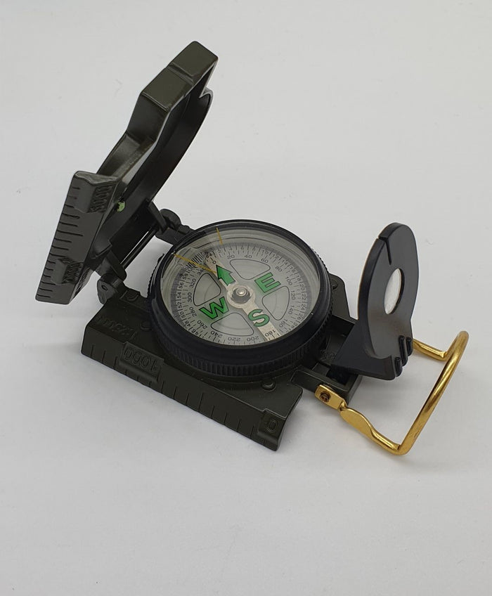 Compass Lensatic (With Metal Cover)