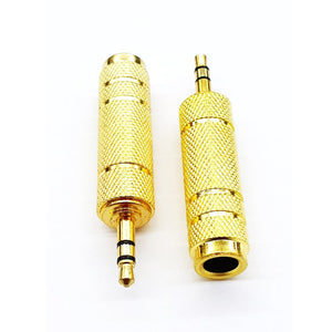 Audio Stereo Jack 6.3mm Female to 3.5mm Male
