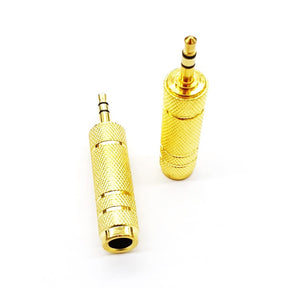 Connector Audio 3.5Mm Male/ 6.3Mm Female (Mic)
