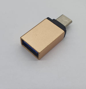 Connector Usb Type C Male To USB A female OTG