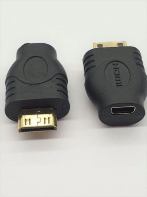 Mini Hdmi Male To Micro Hdmi Female Adaptor