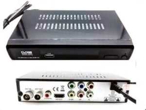 Digital TV Receiver DVB-T2 Box with HDNI/VGA & AV Out