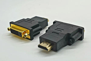 Hdmi Male To Dvi 24+5 Female Adaptor