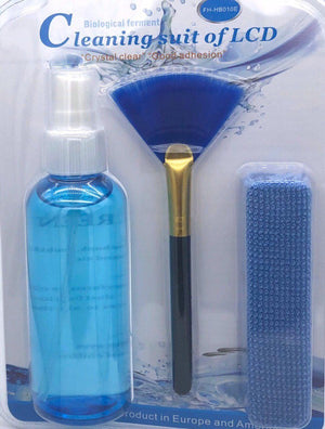 3in1 LCD/LED Screen Cleaning Kit for Tablet / Keyboard Brush FHHB010E