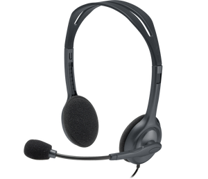 Logitech H111 Stereo Headset 3.5Mm Headset And Mic