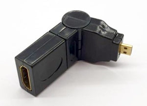 Adaptor HDMI Female to Micro HDMI Male - 180 Degree