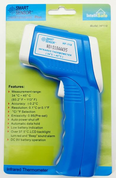 Infrared Thermometer HF110 Smart Senor 34 degree ~ 45 degree -No stock