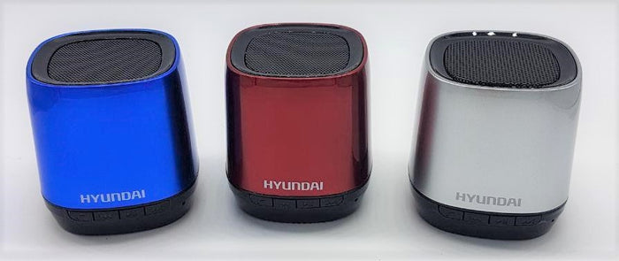 Hyundai I80 Bluetooth Speaker USB/MicroSD  (Red)