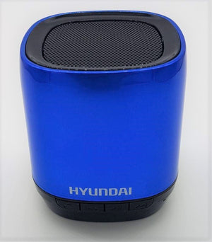 Hyundai I80 Bluetooth Speaker USB/MicroSD  (Blue)