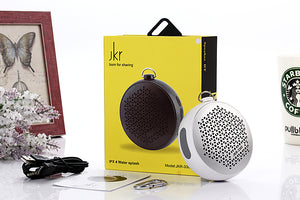 Bluetooth Speaker Black Water Resistance Jkr 3302Bt