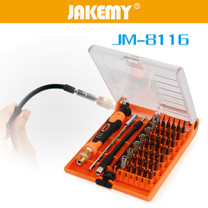Jakemy JM8116 / JM-8116 45in1 Multi-purpose precision Screwdriver set for Phone / Laptop