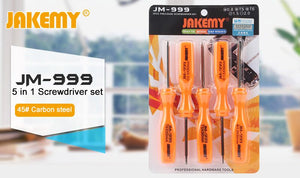 Jakemy Jm-999 5 iN 1 Toolset Screwdrivers