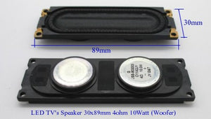 LED TV Speaker JSS-903003 30x89mm 4Ohm 10Watt