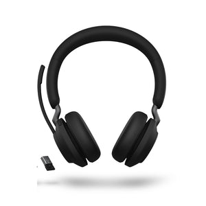 Jabra Evolve2 65 UC Unified Communication P/N: 26599-989-999 / Wireless Bluetooth Headset / 2Yrs Local Warranty