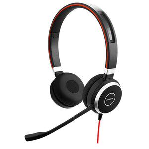 Jabra Evolve 40 MS Stereo ( USB-A / Microsoft Skype for Business) P/N : 6399-823-109 / 2Yrs Warranty