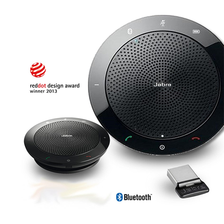 Jabra Speak 510+ MS Wireless Bluetooth Conference Speaker with Microphone,Suitable for Skype for Business/ 2 Years Local Warranty