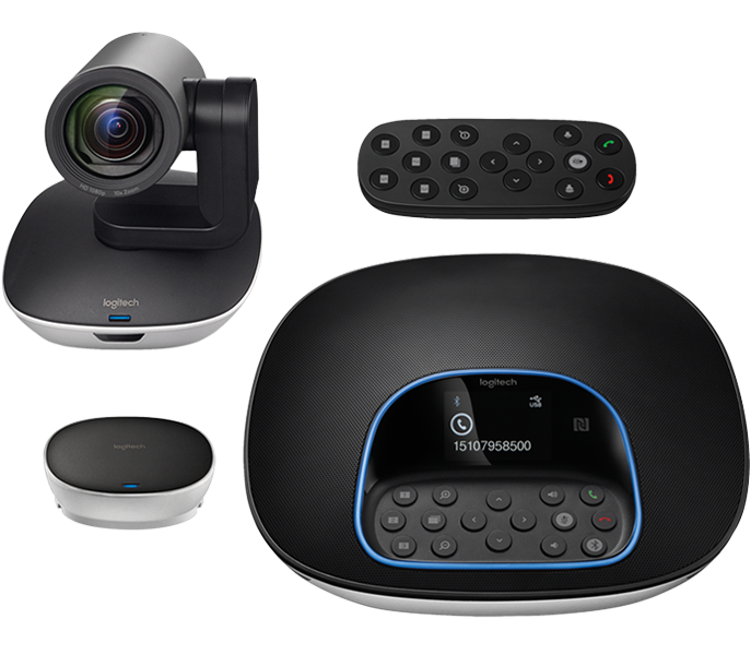 Logitech Group Video Conference Camera Support up to 20 participants with Clear Crystal Audio/ 2yrs Limited hardware Warranty- call to order