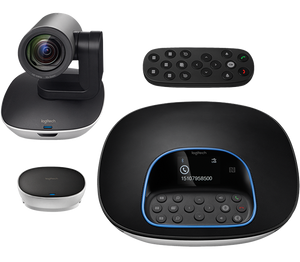 Logitech Group Video Conference Camera Support up to 20 participants with Clear Crystal Audio/ 2yrs Limited hardware Warranty