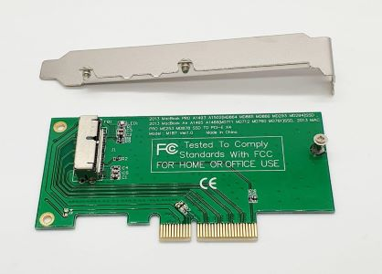Macbook 2013 SSD To Pcie Converter