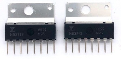 Audio Amplifier Linear IC MB3713 Sip8 Fujitsu