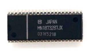 CRT TV IC Microporcessor MN1873287JX Dip42 Mat Appl: JVC Tv