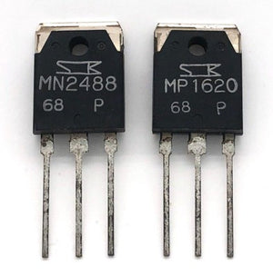 Audio Amplifier Silicon Power Transistor MN2488 / MP1620 - P-Rank Sanken Japan