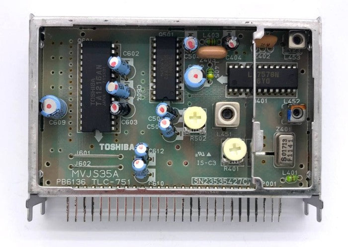 Original CRT TV IF Block / IF Module MVJS35A 7F031A Toshiba