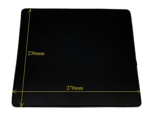 Anti Slip Mouse Pad 230x270mm X-7 Black