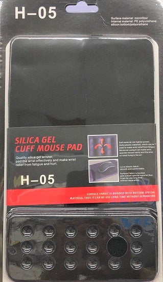 Ergonomic Mouse Pad H-05 Black