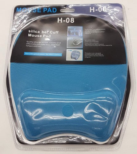 Ergonomic Mouse Pad H-08 Blue