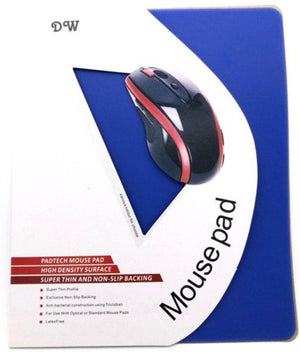 Mouse Pad Super Thin Anti Slip Silicon 180x220mm Blue, Black, Orange, Purple