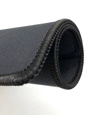 Anti slip Mouse Pad 210x250mm X81 Black with Black Trim