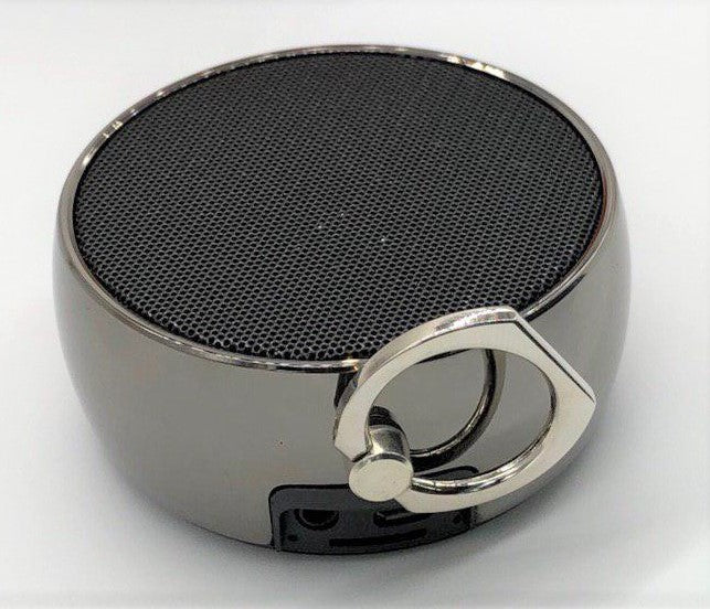 Music-F Simplicity E305 Bluetooth USB/Micro SD Portable Speaker (Black)