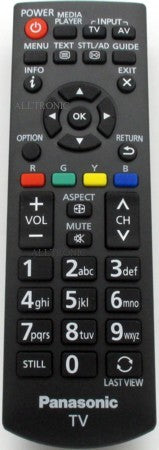 LED Tv Remote Control N2QAYB000818 Panasonic
