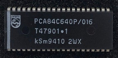 TV IC Microporcessor PCA84C640P-016 Philip Dip42 P/No. 875998426