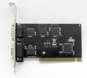 Card PCI to Serial 4Port  Blk  MCB