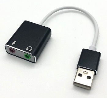 USB2 to Audio Sound Converter Cable 10cm  (Virtual 7.1 Channel Sound)  PD570