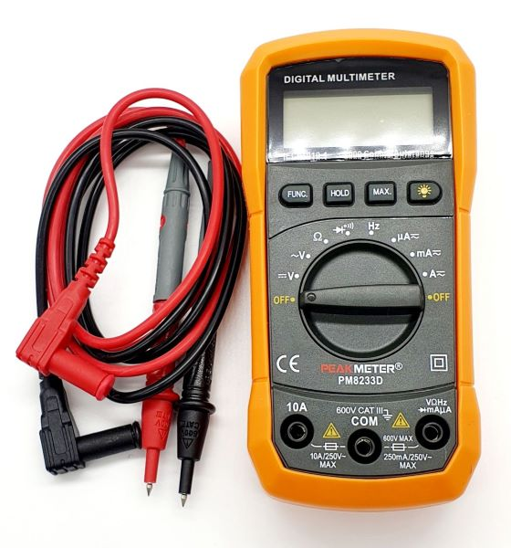 Digital Multimeter PeakMeter (PM8233D)