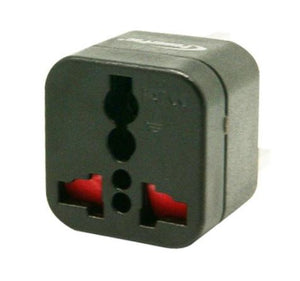 Powerpac Universal Travel Adaptor  PT06BK (CHN,AUS, New Zealand)