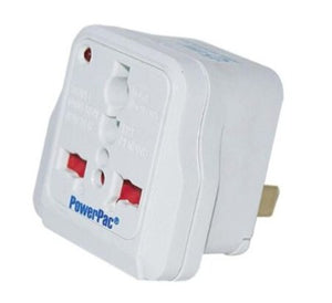 PowerPac PT06 Multi Travel Adpaptor  Japan/Taiwan/USA/Thailand/Philippines/Vietnam