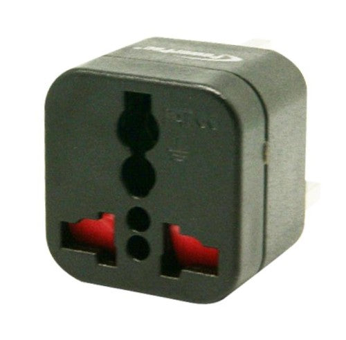 Powerpac PT09BK Multi Travel Adaptor (Russia, Middle east, S/America, China)