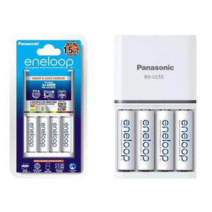 Panasonic K-KJ55MCC40T 1.5Hrs With 4XAA Quick Charger Kit